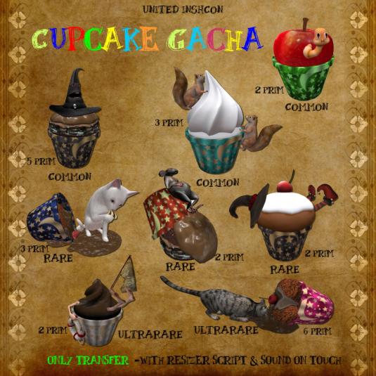 UI Cupcake Gacha